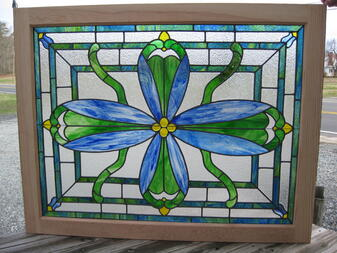 Quiet Cove Stained Glass Custom