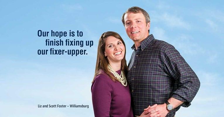 Liz and Scott Foster